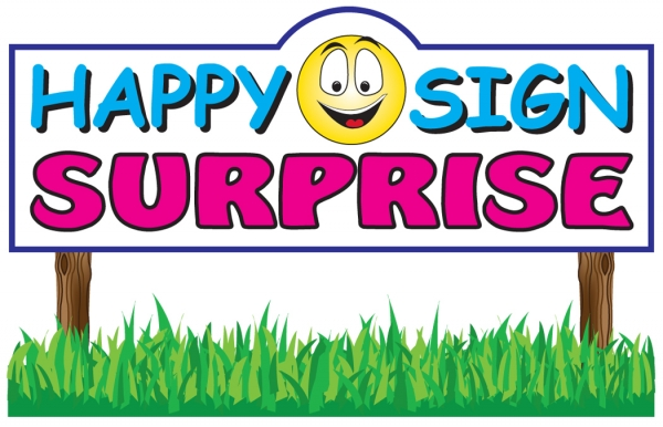 Happy Sign Surprise